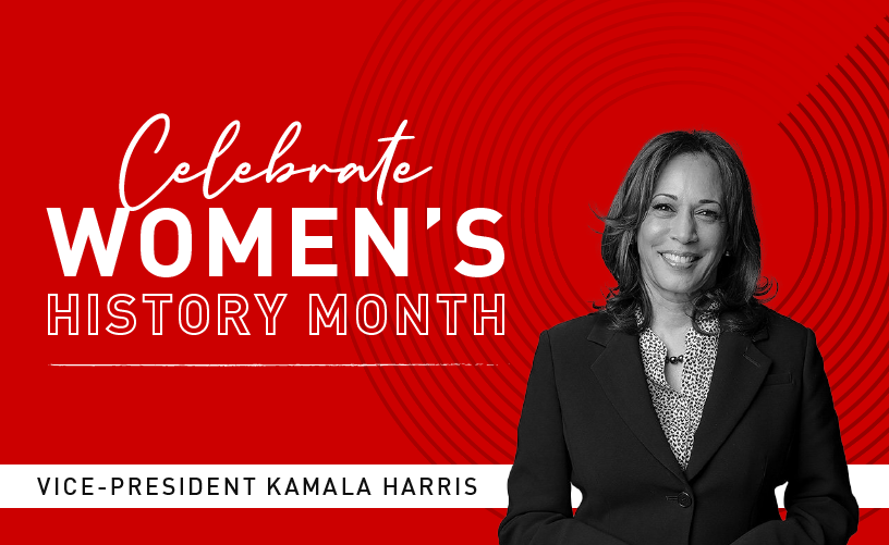 Women's History Month: Kamala Harris