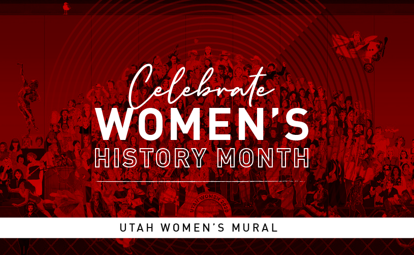 Women's History Month: Utah Women 2020 Mural