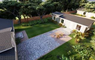 An example of a Backyard Estates home