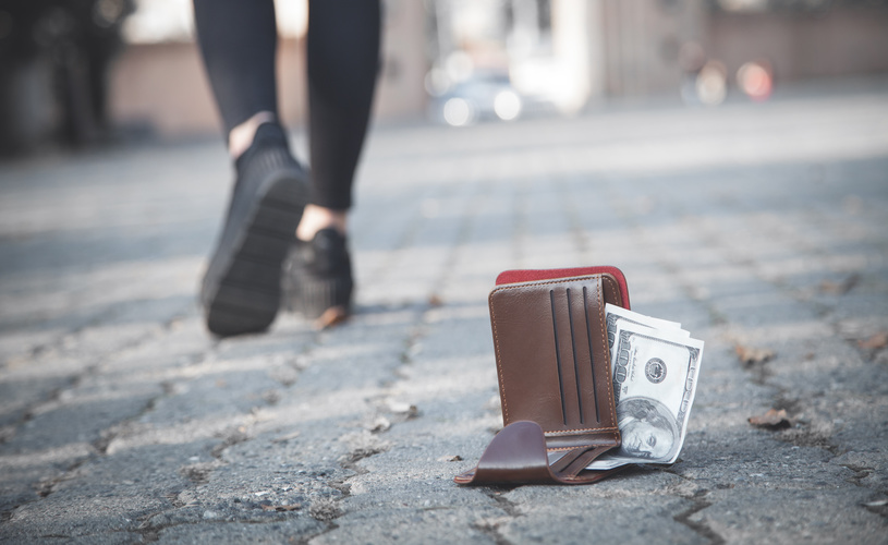 Lost wallet? More money may mean you'll see it again